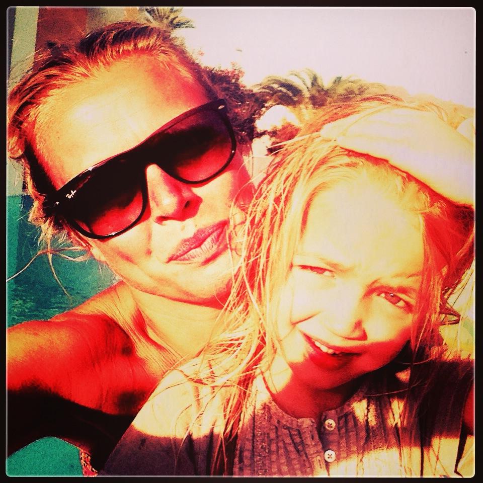 foto mor og datter